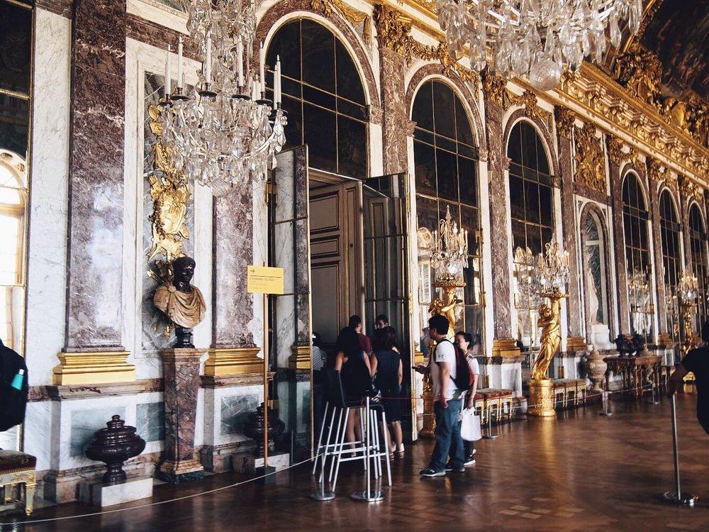 достопримечательности Версальский дворец
