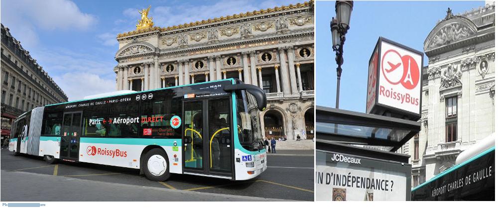 Как добраться на автобусе из аэропорта Шарль де Голь в Париж