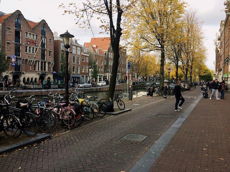 достопримечательности Амстердам