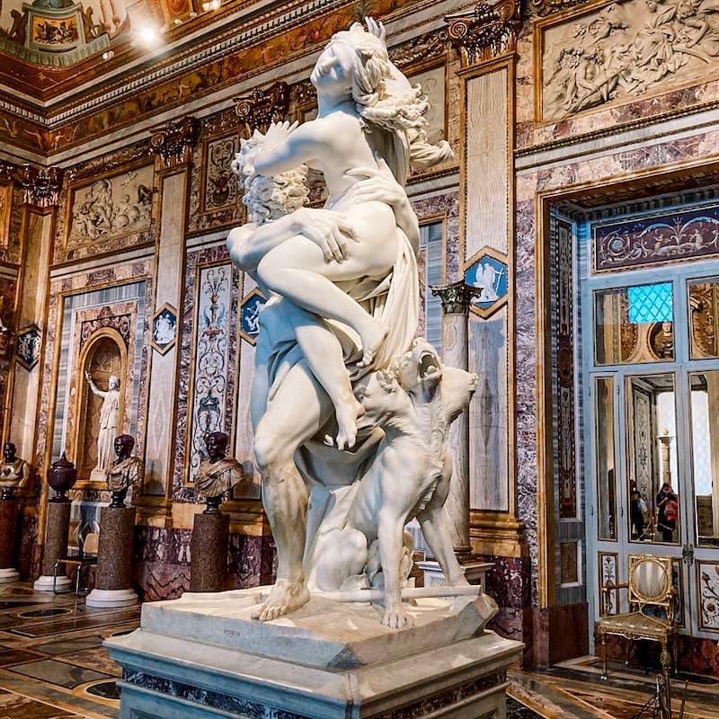 галерея Боргезе - что посмотреть в Риме
