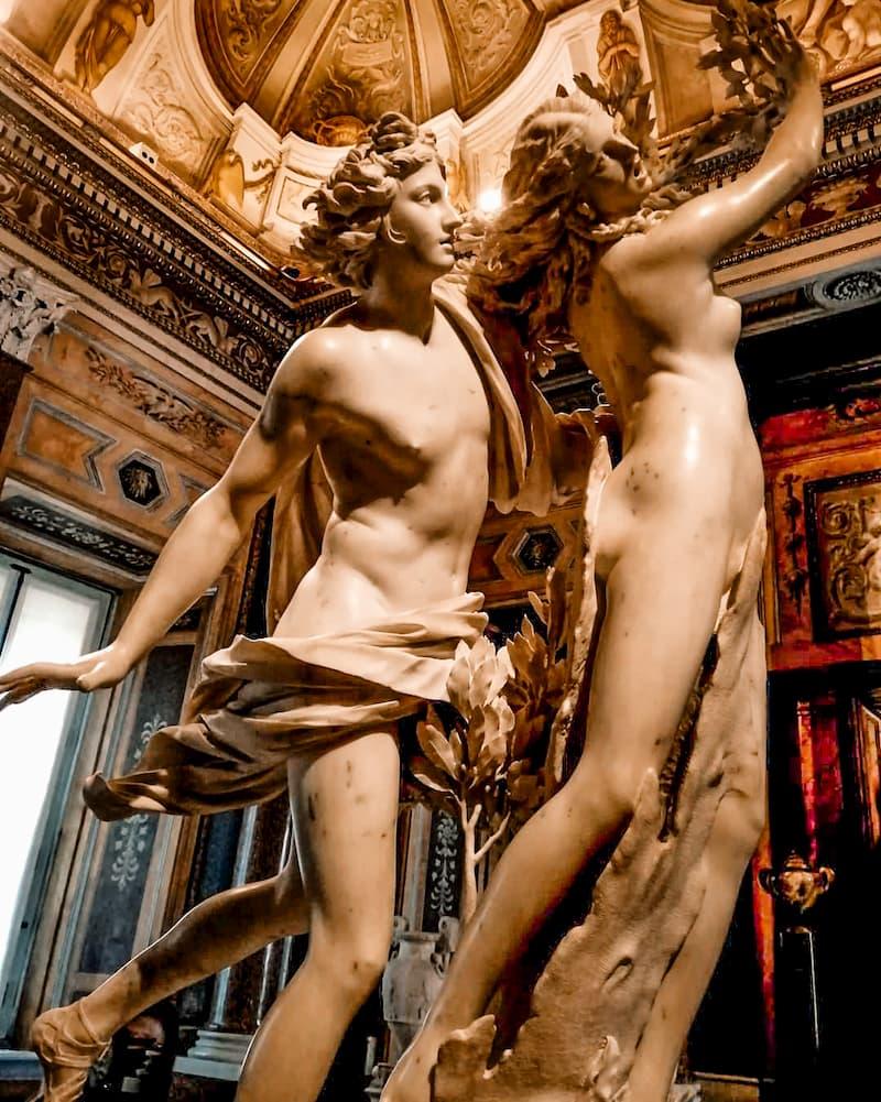 галерея Боргезе - достопримечательности Рима