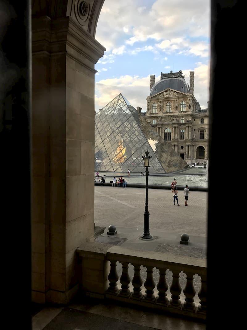 Маршрут по ночному Парижу
