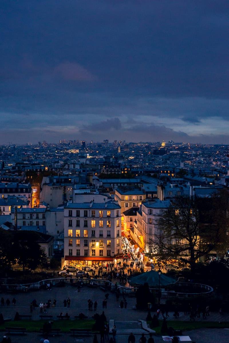 париж ночью достопримечательности