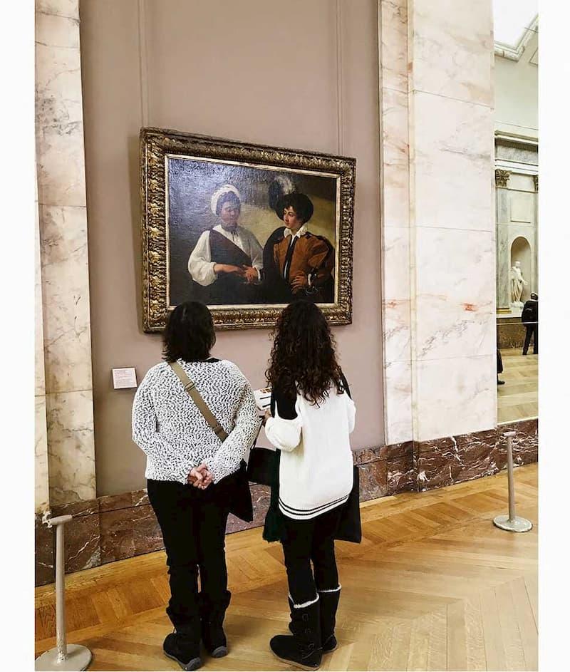 Лувр что посмотреть