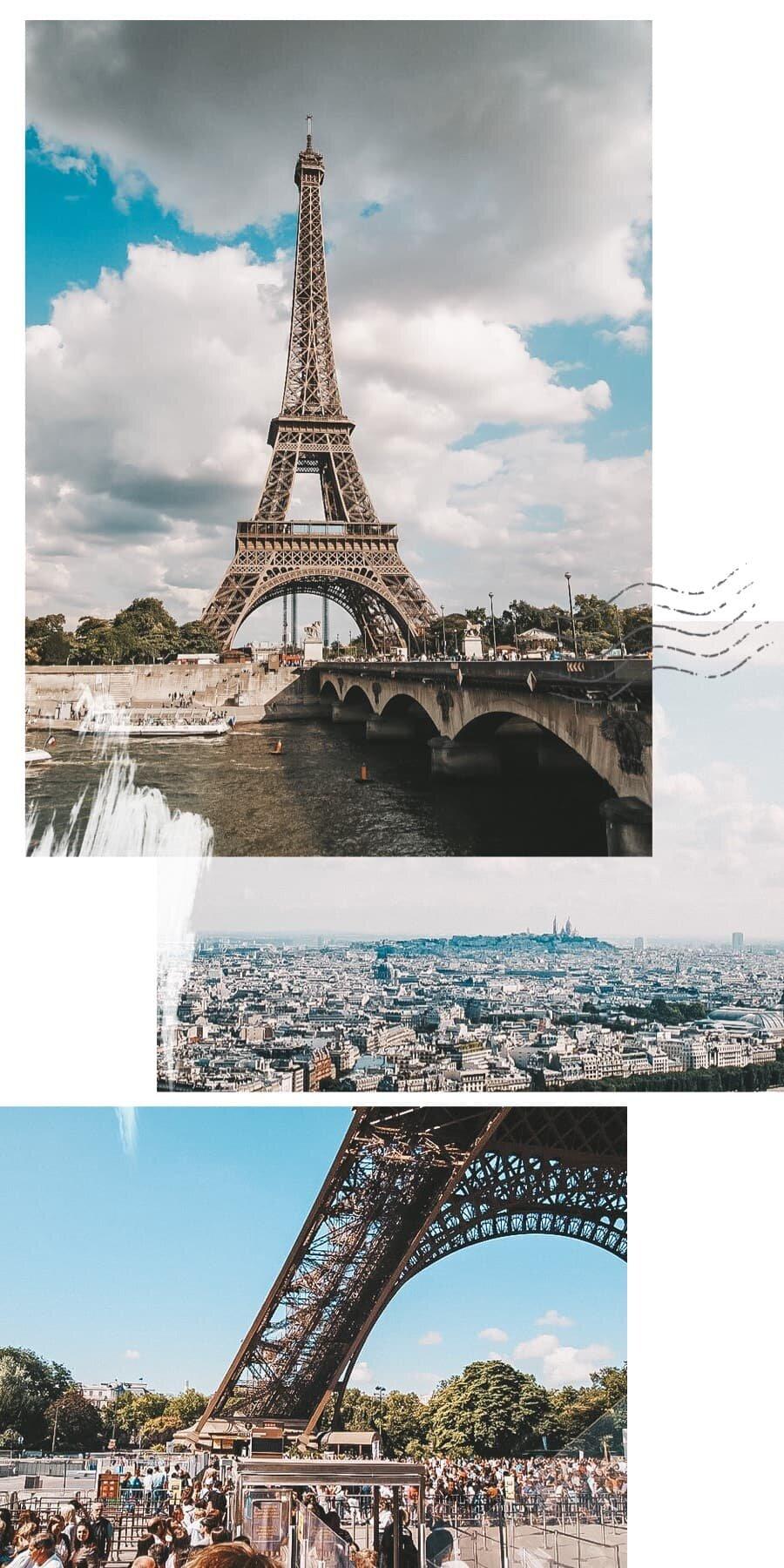 париж достопримечательности эйфелева башня