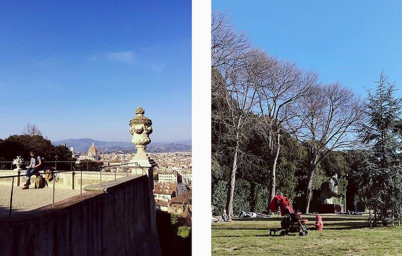 сады Боболи - достопримечательности Флоренции