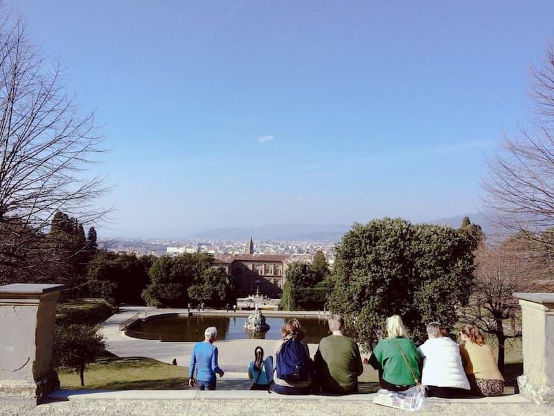 дворец Питти - достопримечательности Флоренции