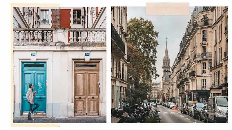 безопасные районы Парижа