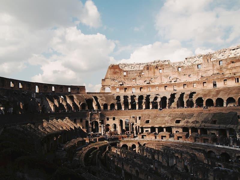 Колизей - достопримечательности Рима