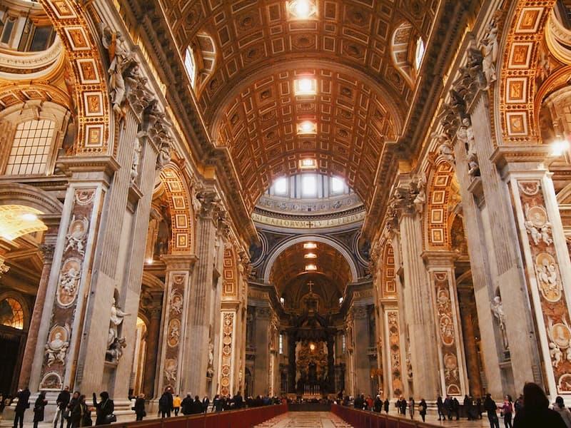 площадь Святого Петра - достопримечательности Рима