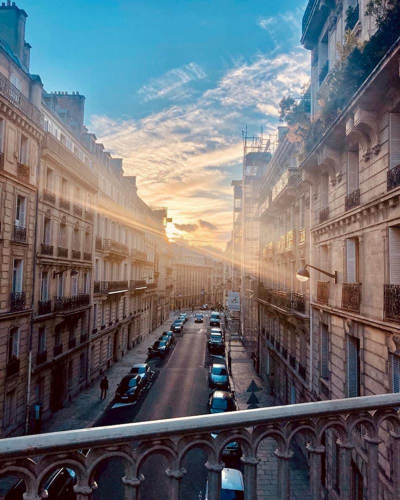 где остановиться в париже недорго