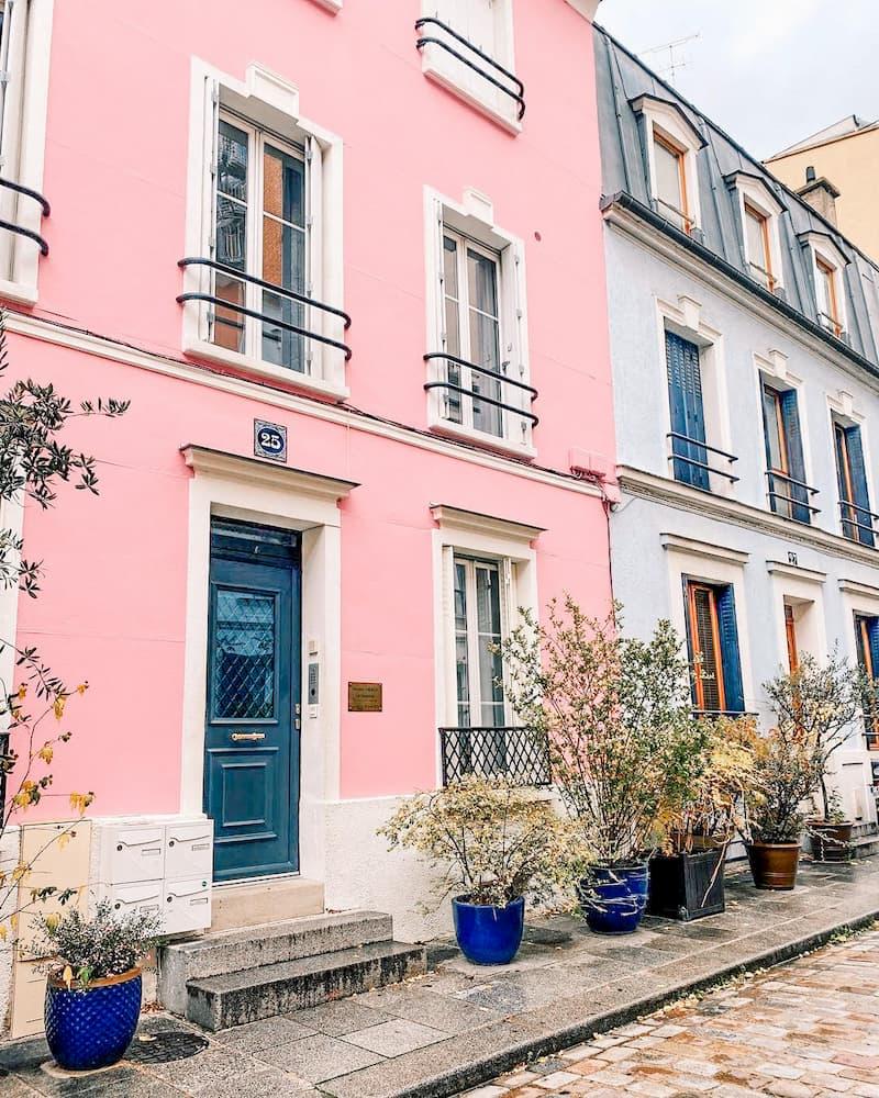 в каком округе жить в Париже