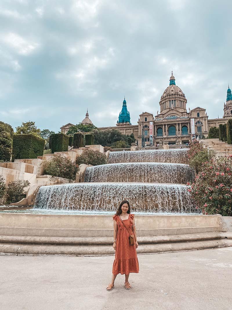 Барселона Монжуик