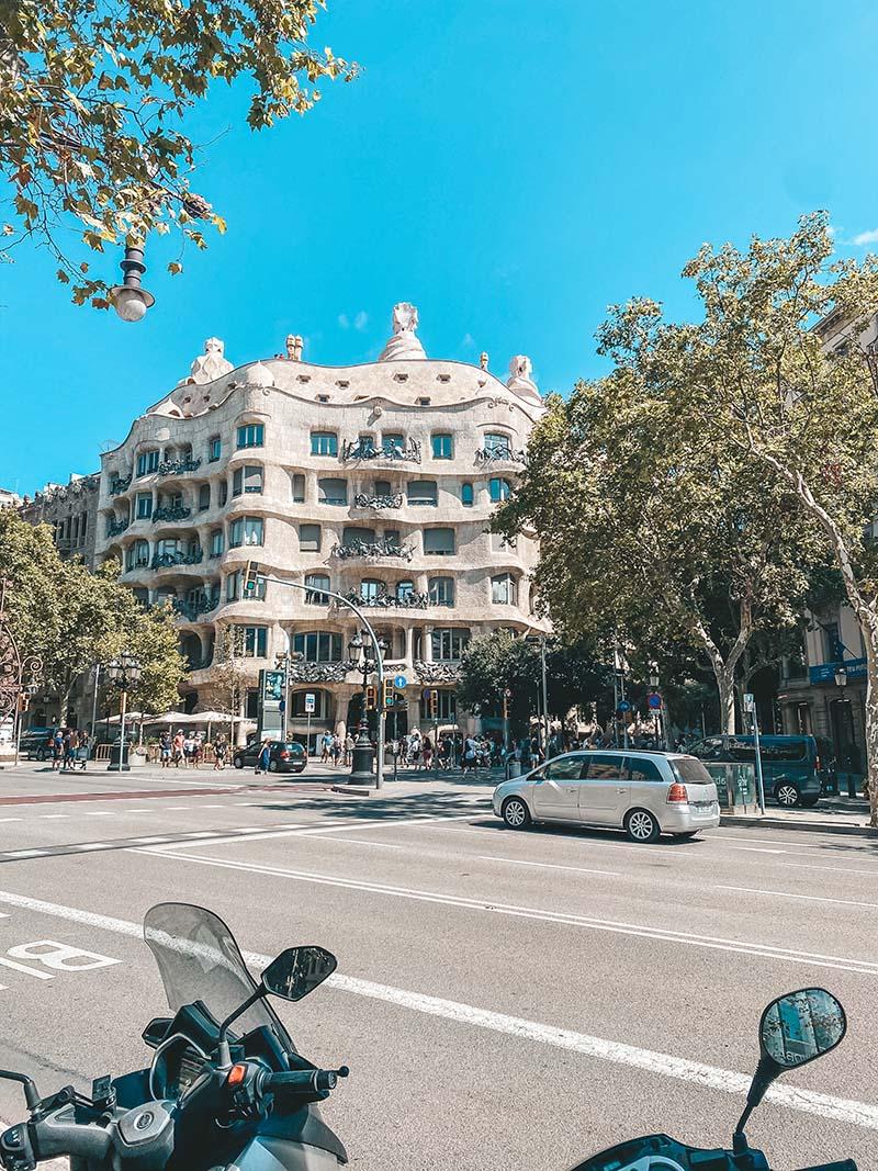 Барселона дом Мила